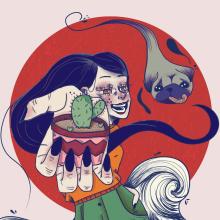 Mi Proyecto del curso: Ilustración de personajes dinámicos . Un proyecto de Ilustración de jessica.navaarro - 24.04.2021