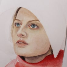 June. A Fine Art, Watercolor Painting, and Portrait illustration project by Marianne Grollmus - 04.25.2021