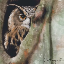 Home. A Digital illustration, Digital Painting, and Naturalist Illustration project by Marianne Grollmus - 04.25.2021
