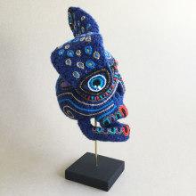 Skull of a Rabbit God . Un proyecto de Artesanía, Escultura, Bordado y Crochet de Amelie Erath Gentes - 11.04.2020