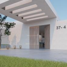 Andres Albrigo: Personal Villa Design inspired by Domestika Course from María Alarcón . A Architecture project by Andres Albrigo - 04.27.2021