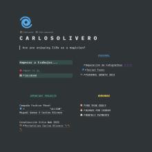 sMi Proyecto del curso: Técnicas para mejorar tu productividad. A Kreative Beratung, Stor und board project by Carlos Olivero Escalante - 27.04.2021