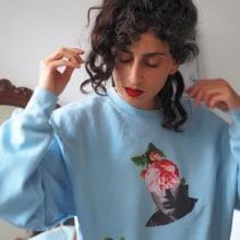 Hoodie Unisex . Un proyecto de Collage y Diseño de moda de Aida Hadid - 24.03.2020