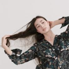 【Desmond & Dempsey x Rie Takeda 】Samurai collection. A Design, Fashion, T, pograph, Calligraph, and Fashion Design project by RIE TAKEDA - 04.13.2021