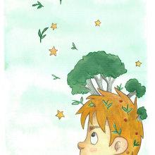 Meu projeto do curso: Ilustração infantil com aquarela. A Watercolor Painting project by cibelle.designer - 04.29.2021
