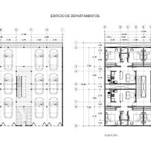 Edificio de Departamentos.. Un proyecto de Arquitectura de Arturo Vargas Dimas - 06.08.2019