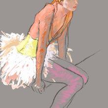 Pastell (digital) nach einer Vorlage. Un proyecto de Pintura de Tews Andreas - 30.04.2021