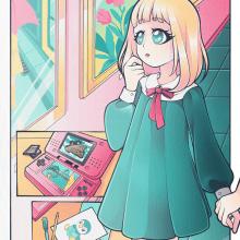 My project in Digital Illustration with Manga Influence course. Un proyecto de Ilustración de Paige Mulder - 26.04.2021