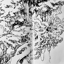 30 Day Challenge . A Ink Illustration project by Sorie Kim - 04.29.2021