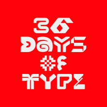 36 Days of Type. A T, pografie, Lettering, Icon-Design, Piktogrammdesign, Kreativität, Logodesign, T und pografisches Design project by Edward Tapia Chaides - 05.04.2021