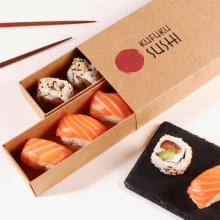 Packaging para Sushi. A Design, Verpackung und Kreativität project by SelfPackaging - 05.05.2021