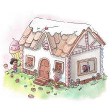 My project in Children's Illustration with Watercolor course. A Watercolor Painting, Children's Illustration, and Editorial Illustration project by Camila Picheco - 05.10.2021