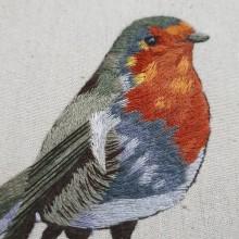 Proyecto del curso | Pintar con hilo: Técnicas de Ilustración Textil de Gimena Romero. Un proyecto de Bordado de Ana De la Rosa - 03.04.2021