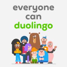 Duolingo rebrand. Um projeto de Design, Ilustração, Publicidade, Br e ing e Identidade de Michael Johnson - 01.06.2019