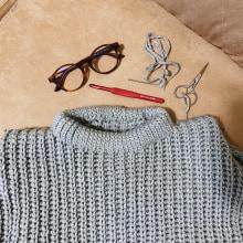 Meu projeto do curso: Crochê: crie roupas com apenas uma agulha. Um projeto de Moda, Design de moda, Tecido, DIY e Crochê de Mari Blessa - 10.05.2021