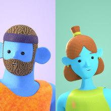 GOT GAME. Um projeto de 3D, Rigging e Animação 3D de Dom Signorile - 17.05.2021