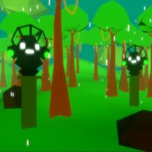 Modelagem de cenários low poly para vídeo games: Maskay. Un proyecto de 3D y Modelado 3D de João Ricardo Bittencourt - 15.05.2021