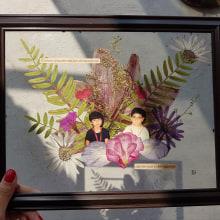 Mi Proyecto del curso: Técnicas básicas de prensado botánico. A H, werk, Collage, Botanische Illustration und DIY project by bereenice - 15.05.2021
