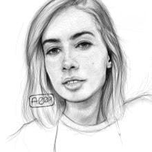 ANALEMOV. A Porträtzeichnung und Digitale Zeichnung project by ALFONSO OSORIO - 22.05.2021