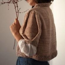 Chaqueta Cascarilla. A Design, Crafts, and Fashion Design project by Carmen García de Mora - 12.01.2020