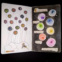 Mi Proyecto del curso: Cuaderno artístico para viajes imaginarios. A Fine Art, Creativit, Drawing, and Sketchbook project by Ana Karina Moreno - 05.26.2021