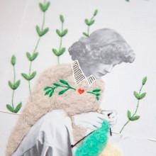 Bordado Needle Felting. Um projeto de Ilustração, Fotografia e Bordado de Studio Variopinto - 22.02.2021