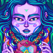 Harmony. Um projeto de Ilustração, Ilustração vetorial, Desenho e Ilustração digital de Andy Velásquez - 31.12.2020
