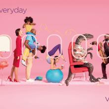 Virgin Atlantic - Depart the Everyday. Um projeto de Publicidade, Fotografia e Direção de arte de Aleksandra Kingo - 01.06.2021
