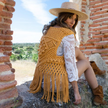 Proyecto final curso DOMESTIKA / Navajo Vest. A H und werk project by Sara Moreno - 03.06.2021