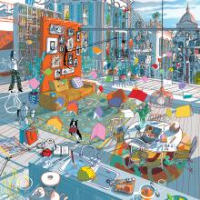 Moleskine: The Power of Colors. Um projeto de Ilustração, Publicidade e Animação de Carlo Stanga - 02.06.2021