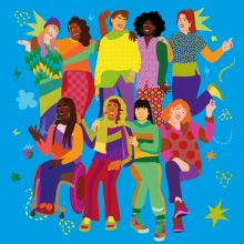 This book is Feminist. Un proyecto de Ilustración de Aurélia Durand - 09.06.2021