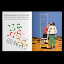 Hebe Uhart. Um projeto de Ilustração, Design editorial e Desenho tipográfico de George Anderson Lozano Ramírez - 30.05.2020