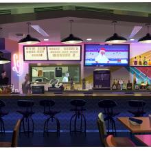 Personal Work. A Illustration, Kino, Video und TV, Animation, Malerei, Concept Art, Digitale Malerei und Gouachemalerei project by Susan Yung - 14.06.2021
