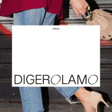 Digerolamo — Visual Identity & website. A Kunstleitung, Grafikdesign, Webdesign und Webentwicklung project by Clara Briones Vedia - 18.06.2021