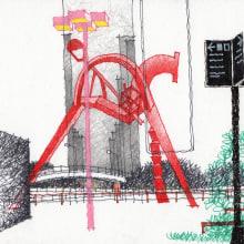 URBAN SKETCHES 2020/2. A Illustration, Skizzenentwurf, Bleistiftzeichnung, Zeichnung und Artistische Zeichnung project by Alan Innes - 10.12.2020