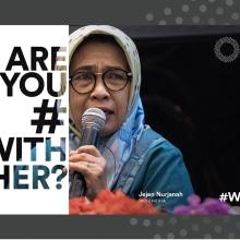 #WithHer from the Spotlight Initiative - EU-UN campaign. Um projeto de Publicidade, Marketing, Social Media e Marketing digital de Philip Weiss - 11.06.2021