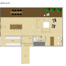 Casa Don Orione. Un proyecto de Diseño, 3D, Arquitectura, Arquitectura interior, Diseño de interiores, Diseño de iluminación, Creatividad y Modelado 3D de Florencia López - 20.05.2021