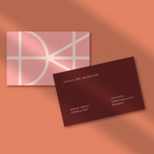 Hana Jay Klokner Brand Identity. A Design, Art Direction, Br, ing, Identit, and Graphic Design project by Mumfolk Studio - 06.22.2021