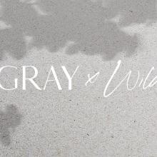 Grey x Wild. A Design, Br, ing, Identit, Graphic Design, and Web Design project by Mumfolk Studio - 06.22.2021