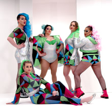 SS17 Plus-Sized Rave/Festival Wear. A Costume Design, and Fashion project by Matt Hunt - 06.28.2021