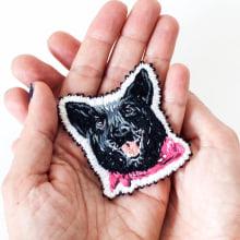 Parche Maga. A Design, Illustration und Stickerei project by Señorita Lylo - 29.06.2021