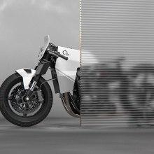 Yamaha XS 650 Cafe Racer Concept R. A Design, 3-D, Design von Kraftfahrzeugen, Industriedesign, Produktdesign, 3-D-Modellierung und 3-D-Design project by Àlex Casabò - 30.06.2021