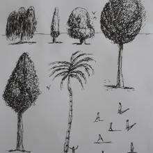 My project in Drawing for Beginners Level -1 course. Un proyecto de Dibujo a lápiz, Dibujo, Creatividad con niños y Sketchbook de Maria Farooq - 02.07.2021