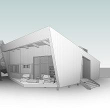 Lodge_Lat_V00. Un proyecto de Diseño y Arquitectura de Arturo Bustíos Casanova - 01.07.2021