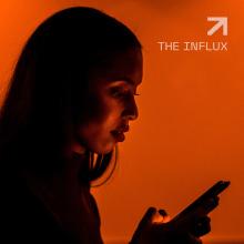 The Influx. A Motion Graphics, Installations, Art Direction, Br, ing & Identit project by Blanca De Santiago Sáez - 10.01.2020