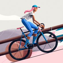 A Journey. A Illustration, 3D, Animation, Art Direction, and 3D Animation project by Itsacat&Goodog - 07.02.2021