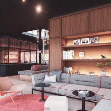 Concept Hotel - Amsterdam. A Architektur, Innenarchitektur und Infografik project by Majo Mora Carmona - 06.06.2019