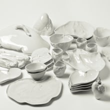 Food on the Table. Um projeto de Design, Artesanato, Design industrial, Design de produtos e Cerâmica de Marre Moerel - 08.07.2021
