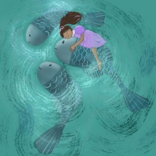 My project in Illustrated Children's Stories: Characters and Settings course. A Illustration, Character Design, Drawing, Digital illustration, Children's Illustration, and Narrative project by Dilek Hocaoglu - 07.03.2021