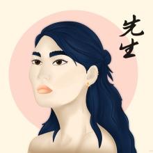 Il mio progetto del corso: Ritratto di personaggi femminili con Procreate. A Illustration, Digital illustration, Portrait illustration, and Digital Drawing project by danielaizzo - 07.14.2021